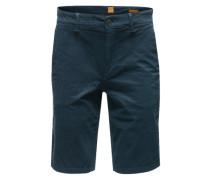 Bermuda mit Eingrifftaschen 'Schino-Slim-Shorts-D' blau