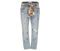 Destroyed Jeans 'Saints' blau