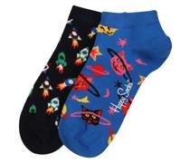 Socken 'Space Cat' mischfarben