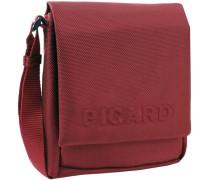 Hitec Messengerbag Nylon 31 cm rubinrot / dunkelrot