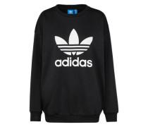Sweatshirt 'Trefoil' schwarz