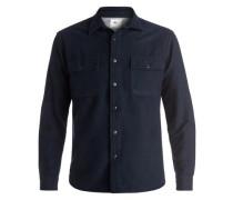 Langarm-Hemd »The Flannel« blau