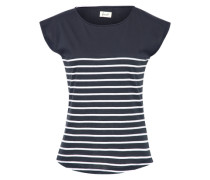 'Newport' T-Shirt nachtblau / weiß