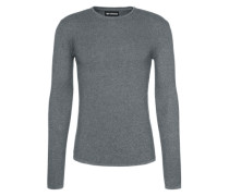 Pullover 'Reiswood' grau / silber