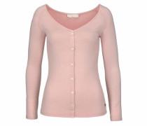 Jeans Langarmshirt rosa
