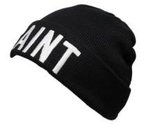 Mütze mit Statement 'Vaint' schwarz