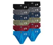 Slips Authentic Underwear (12 Stck.) kirschrot