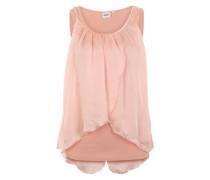 Chiffon-Top 'Objsunke' pink