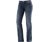 Straight Fit Jeans 'Alice' nachtblau