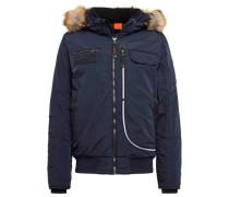 Jacket Jacke mit Kapuze mit Fake-Fur