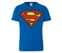 T-Shirt 'Superman' blau