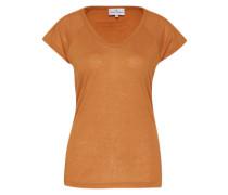 T-Shirt 'Mitzi' braun