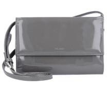 'Auguri' Damentasche Leder 19 cm grau