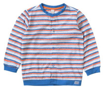 Baby Sweatjacke für Jacke blau / orange