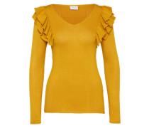 Pullover 'vilost' goldgelb