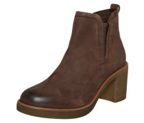 Ankle Boot im Chelsea-Style braun