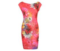 Kleid 'Pichiluka' mischfarben / koralle / pink