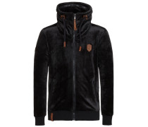 Male Zipped Jacket Ivic Mack schwarz