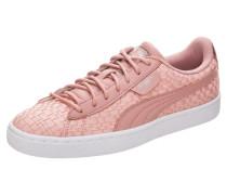 'Basket Satin En Pointe' Sneaker pink