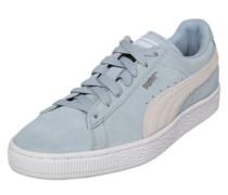Sneaker 'Suede Classic +' hellblau / weiß