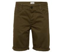 Shorts 'Loom Twill shorts' oliv