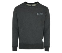 Sweatshirt 'Crew neck flatlock and rib details art 65 CO 35' anthrazit