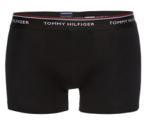 Boxershorts 'Trunk' (3er Pack) schwarz