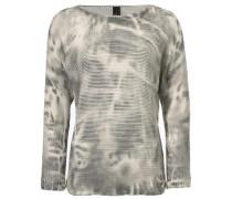 Oversized-Pullover beige / grau / oliv