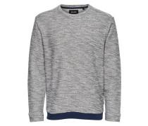 Sweatshirt Einfarbig blau