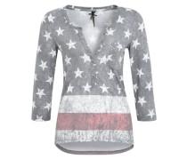 Jersey-Shirt 'Detroid' mischfarben