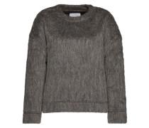 Flauschiger Pullover 'Fia' grau