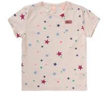 T-Shirt für Mädchen beige / rosé