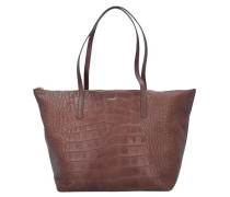 Croco Soft Helena Shopper braun