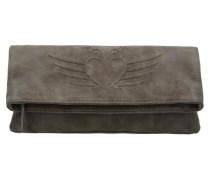 'Ronja BW Vintage' Clutch Umhängetasche 29 cm grau