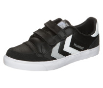 Stadil Leather Low Sneaker Kinder schwarz