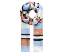 Schal mit Multicolor-Streifen mischfarben