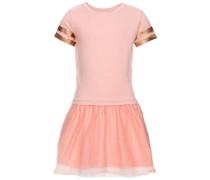 Kleid mit kurzen Ärmeln orange / pfirsich