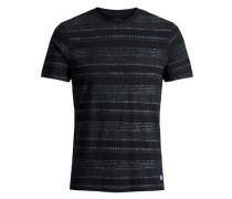 T-Shirt Print anthrazit / schwarz