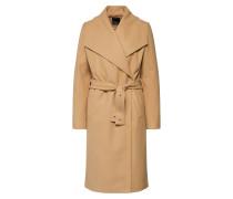 Mantel 'Longline Belt coat' camel