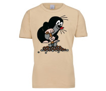 """T-Shirt """"Der Kleine Maulwurf"""" beige"""
