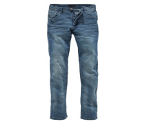 Straight-Jeans 'Stretch' blue denim