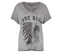 T-Shirt 'Indian' grau