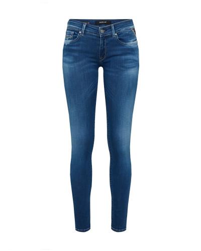 Jeans im Skinny Fit 'Luz' blue denim