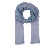 Schal mit Farbverlauf blau