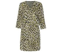 Kleid mit Animalprint mischfarben