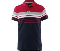 Poloshirt Herren navy / grau / rot / weiß