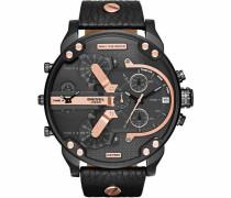 Chronograph 'MR Daddy 2.0 Dz7350' rostbraun / schwarz