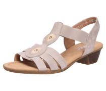 Sandalen/Sandaletten beige