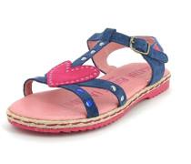 Mädchen Sandale Gummi blau