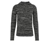 Feinstrick-Pullover 'Jusa' schwarz
